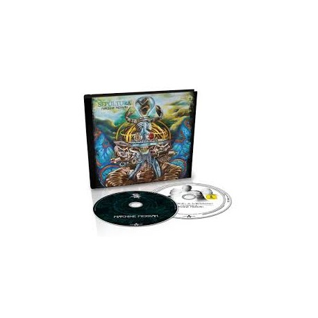 SEPULTURA - Machine Messiah (Digibook)