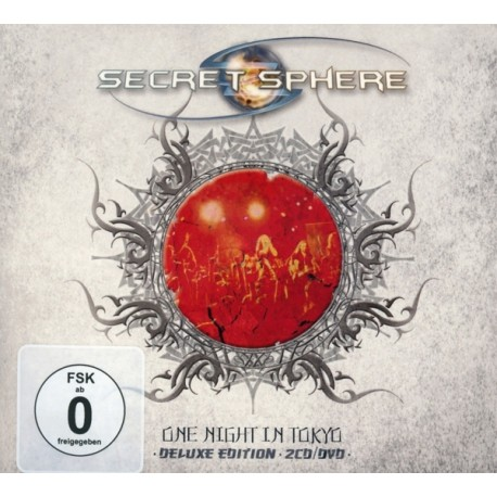 SECRET SPHERE - One Night In Tokyo (Digipak)
