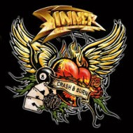 SINNER - Crash And Burn (Digipak)