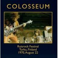 COLOSSEUM - On The Radio - Ruisrock Festival Turku, Finland 1970, August 22