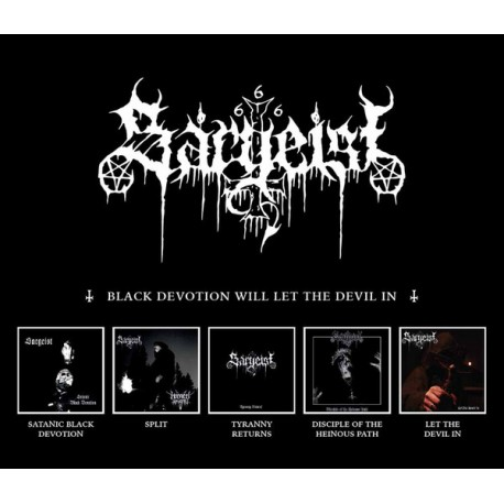 SARGEIST - Black Devotion Will Let The Devil In