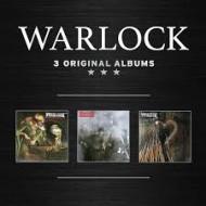 WARLOCK - 3 Original Albums (Digipak)
