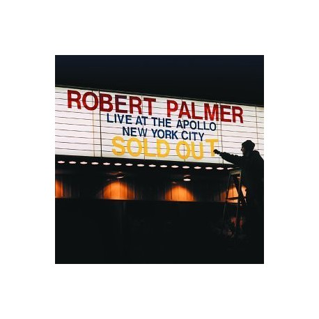 PALMER, ROBERT - Live At The Apollo