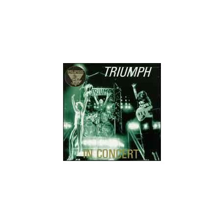 TRIUMPH - In Concert - King Biscuit Flower Hour