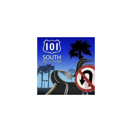 101 SOUTH - No U-turn